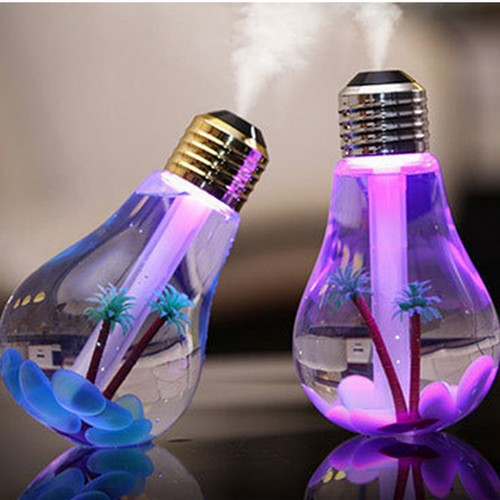Ampoule humidificatrice déco geek LED