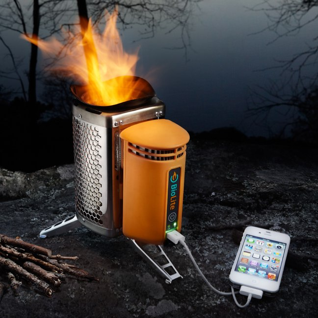 Chargeur USB barbecue pour camping